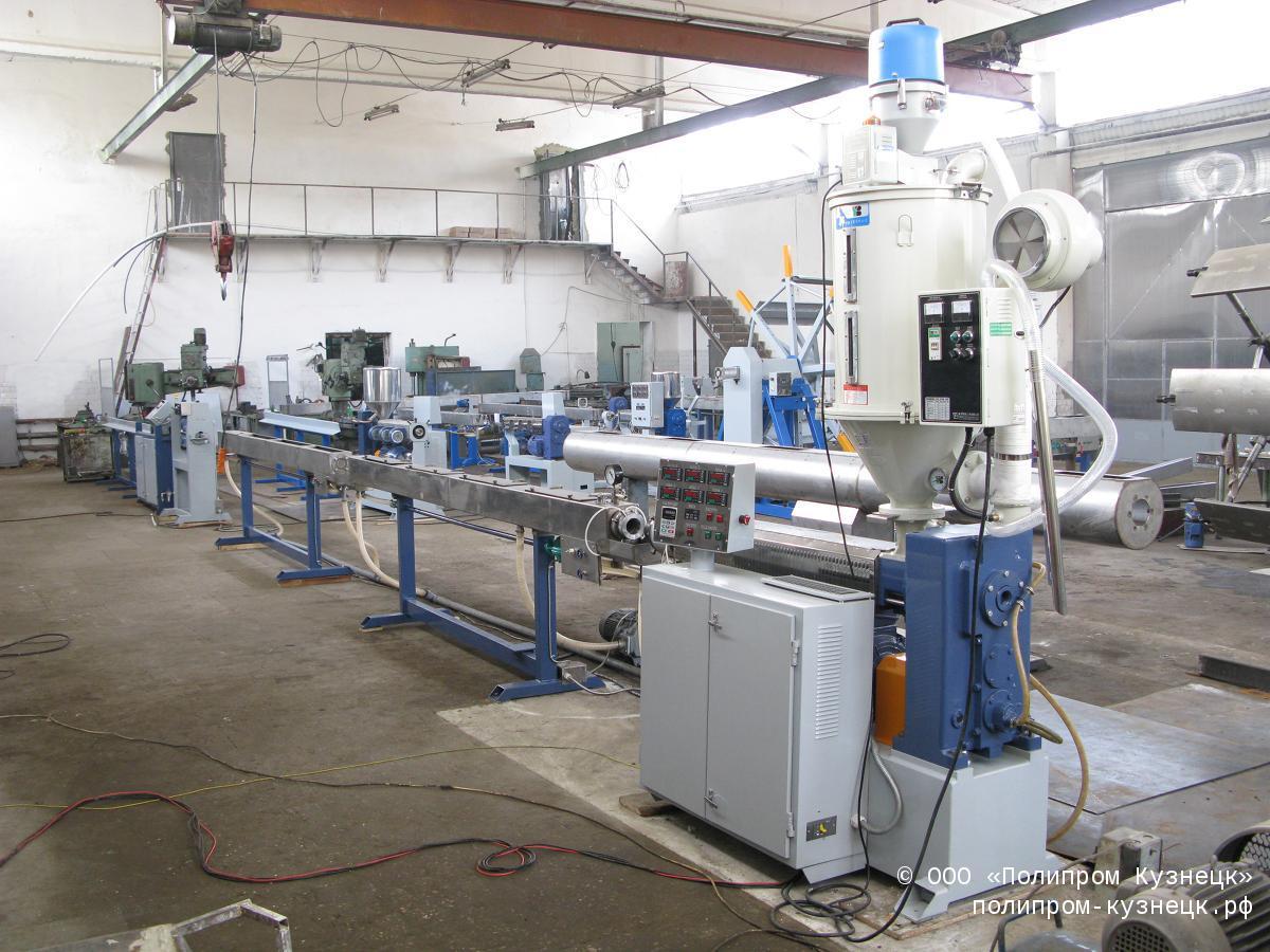 Экструзионные линии для производства напорных труб из полипропилена